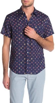 J.Crew Flora Print Slim Fit Shirt