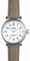 Shinola Grey strap coin edge Runwell
