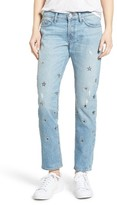 Hudson Women's Riley Crop Relaxed Straight Leg Jeans