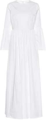 The Row Sora stretch cotton poplin dress