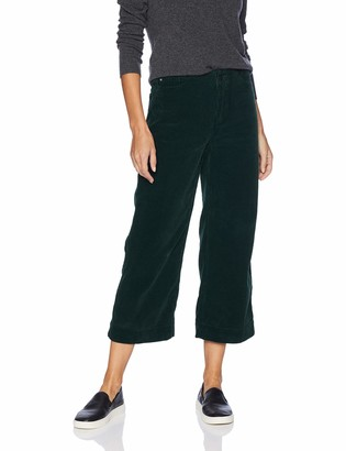 AG Jeans Women's Wale Cord Etta Wide Leg Crop