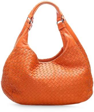 Bottega Veneta Pre Owned Intrecciato weave hobo bag