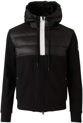 Moncler Double-material Maglia cardigan