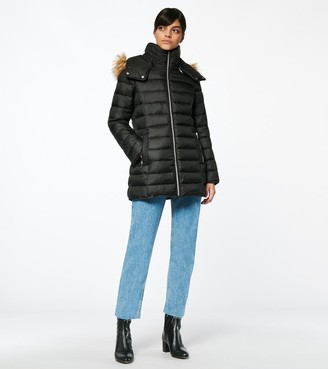 Marc New York   Final Sale Eleanor Zip Up Synthetic Down