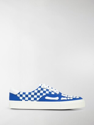 Amiri Checkered Skel-Toe sneakers