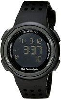 Freestyle Unisex 10016995 FX Trainer Digital Display Japanese Quartz Black Watch