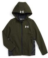 Under Armour Boy's Swacket Water Resistant Zip Hoodie