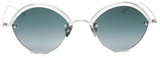 Smoke X Mirrors The Line 51MM Oval Sunglasses