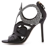 Sergio Rossi Hynpos Heeled Sandals