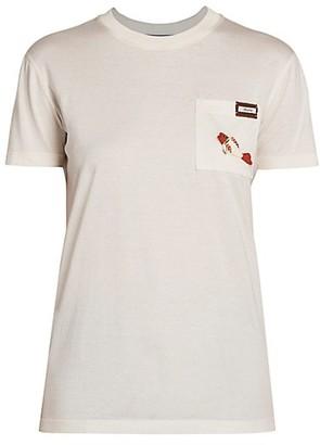 Prada Fish Pocket T-Shirt