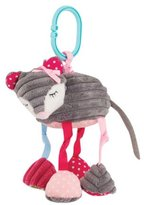 Mud Pie Forest Animal Stroller Toys, Mouse
