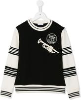 Dolce & Gabbana Follow Your Heart sweatshirt - kids - Cotton - 3 yrs