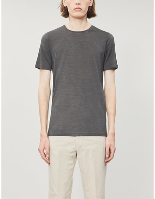 Selfridges Lightweight silk T-shirt