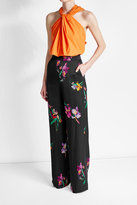 Etro Embroidered Wide Leg Pants