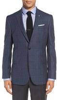 Ted Baker Men's 'Jay' Trim Fit Check Wool Sport Coat