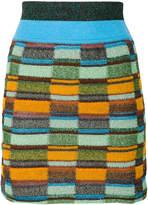Missoni intarsia knit skirt