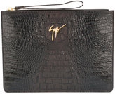 Giuseppe Zanotti Design Marcel oversized clutch bag - men - Calf Leather - One Size