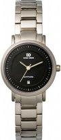 Danish Design Women's 28mm Silver-Tone Titanium Bracelet & Case Quartz Dial Analog Watch IV63Q717
