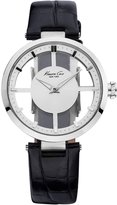 Kenneth Cole New York Women's KC2649 Transparent Dial Round Watch