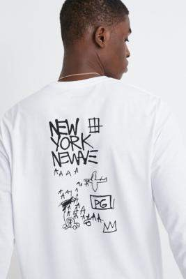 Billabong Basquiat Thermal Long-Sleeve T-Shirt - white L at Urban Outfitters