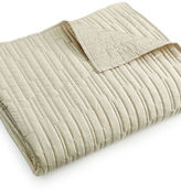 Hotel Collection Manhattan Quilted Coverlet