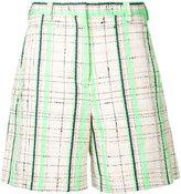 Maison Margiela checked tailored shorts - women - Cotton - 42