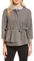 Halogen Soft Ruffle Jacket (Regular & Petite)