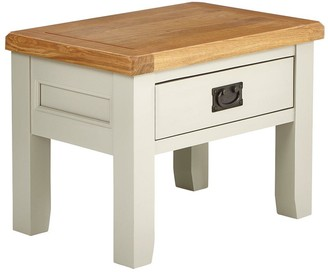Luxe Collection Oakland Painted 100% Solid Wood Ready Assembled Lamp Table