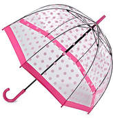 Fulton Clear Printed Walking Umbrella