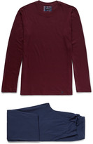 Hanro - Alberto Cotton-jersey Pyjama Set