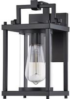"575 Denim Mald Outdoor Wall Lantern 17 Stories Size: 10.5"" H X W"