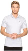 Nike Momentum Fly Dri Fit Wool Stripe Polo - Light