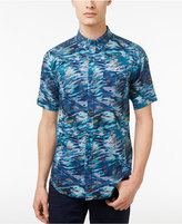 Ezekiel Men's Let It Rain Abstract-Print Cotton Shirt