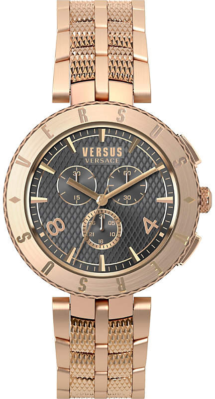 Versus S76180017 Logo Chrono rose-gold watch