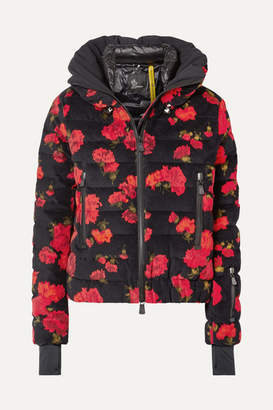 Moncler Genius - 3 Grenoble Floral-print Quilted Cotton-blend Down Jacket - Red