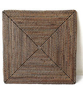 Southern Living Nito Basketweave Square Charger