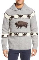 Schott NYC Men's Cowichan Pullover Sweater