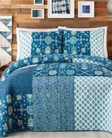 Jessica Simpson Jessican Simpson Murano Glass Cotton King Quilt Bedding