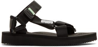 Suicoke Black DEPA-Cab Sandals