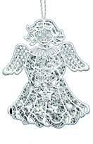 Heritage Lace OC-037 Angel Macrame Ornament