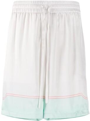 Casablanca Boxer Style Shorts