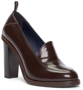 Brooks Brothers Leather Loafer Pump