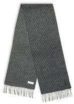 Saint Laurent Textured Wool Scarf