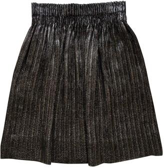 Isabel Marant Silver Glitter Skirt for Women
