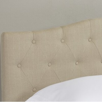 Three Posts Lainey Upholstered Panel Headboard Size: Twin, Upholstery: Ivory
