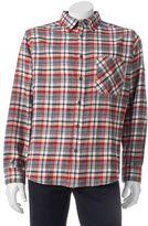 Woolrich Men's Classic-Fit Plaid Flannel Button-Down Shirt