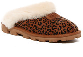 UGG Coquette Rosette Dyed Genuine Sheepskin Slipper