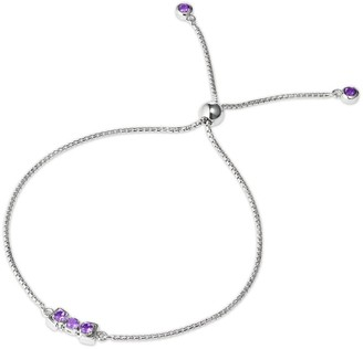 Tsai X Tsai San Shi Amethyst Bracelet Sterling Silver