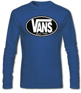 Vans Classic Logo Graphic For Mens Long Sleeves T-shirts Tops