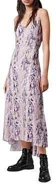 AllSaints Essie Masala Slip Dress
